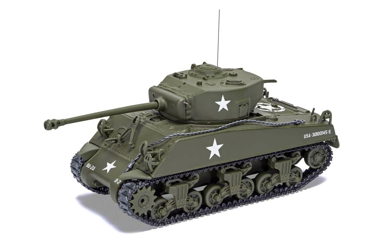 CORGI 1 50 US M4A3 Sheruomo autoro armato medioLUSSEMBURGO, 1944,  CC51031