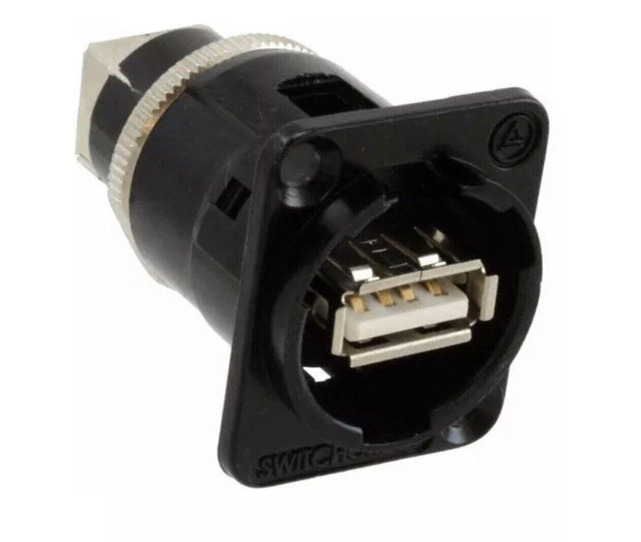 Pack of 2 EHUSBABBXPKG - USB Connectors USB A TO B BLACK,