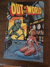 Rare. Out of This World #1 Bruce Timm 1989 ORIGINAL Eternity Comic Book