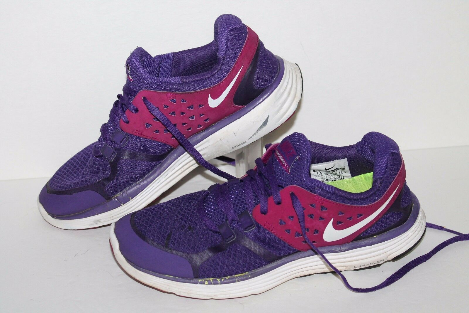 Nike Lunarswift 3 + Running Shoes, Club Ppl/Vivid Grape, Women's 8.5 Special limited time