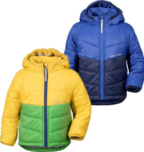 Didriksons Sunne Padded Kids Jacket Hooded Insulated Lightweight