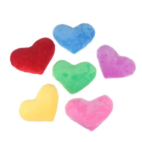 15CM Heart Shape Decorative Throw Pillow PP Cotton Soft Creative Doll Lover G AR