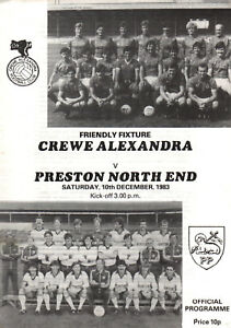 198384 Crewe Alexandra v Preston North End friendly  PERFECT CONDITION - Peterborough, Cambridgeshire, United Kingdom - 198384 Crewe Alexandra v Preston North End friendly  PERFECT CONDITION - Peterborough, Cambridgeshire, United Kingdom