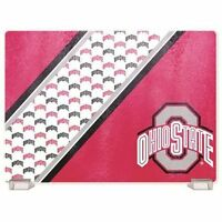 Ncaa Ohio State Buckeyes Glass Cutting Board, New, Free Shipping on sale