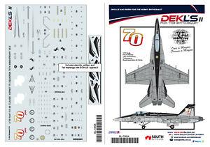 1-72-F-A-18-Hornet-RAAF-75-SQN-70th-Anniversary-Decals-DEKL-039-s-II