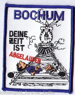 """Anti Bochum Aufnäher """"Abgelaufen"""" für die Kutte Fan"""
