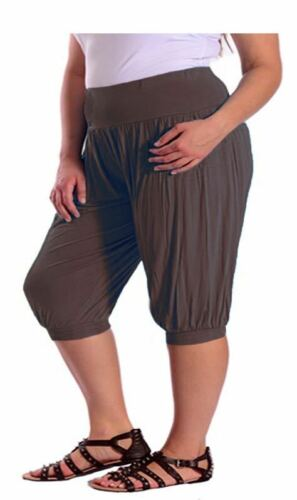 DONNE RAGAZZE ALI BABA 3//4 largo pantaloni legging Harem harem8-2