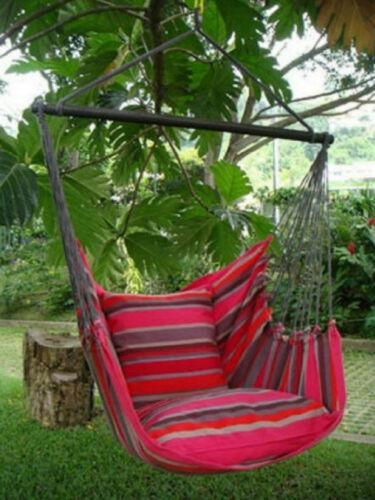 Hängestuhl Hängesessel Hängematte San Salvador  mit 2 Kissen und Fußstütze