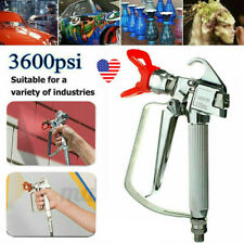 3600 Psi Airless Paint Spray Gun High Pressure With 517 Tip Amp Guard For Sprayers