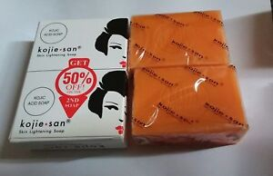100-Authentic-Kojie-San-Kojic-Acid-Skin-Lightening-Soap-2x135g-UK-SELLER