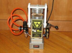 Mr. Rosin 1140psi Pneumetic Hot Rosin Press w/Heated Plates - Portable/Personal