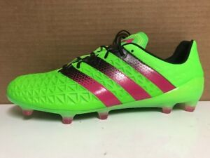 adidas ACE 16.1 FG Soccer Cleats – Solar GreenShock Pink