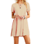 Women-039-s-Casual-Short-Sleeve-Solid-Loose-Tunic-Top-Shirt-Blouse-Dress-Plus-Size thumbnail 4