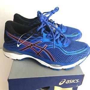ASICS Womens Gel Cumulus 19 Running Shoe, Blue PurpleBlack