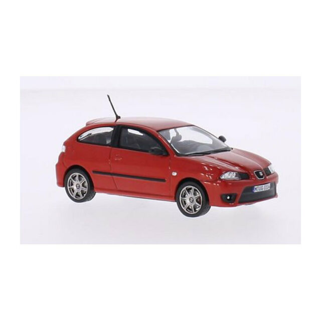 Whitebox WB218 Seat Ibiza Cupra Tdi Rouge Échelle 1:43 Maquette de Voiture