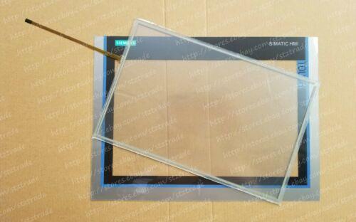 Vitre tactile et film de protection pour Siemens Simatic HMI 6AV2124-0MC01-0AX0 TP1200