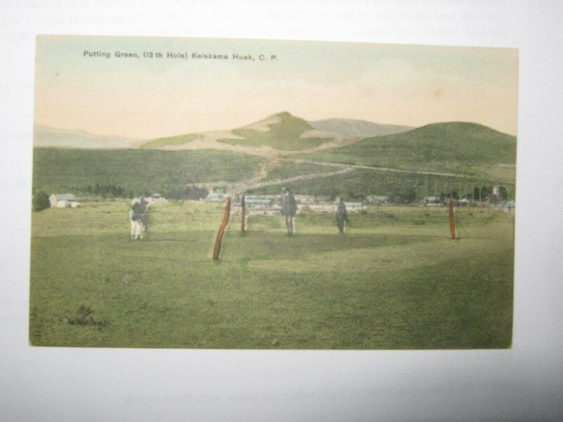 Rare Golf postcards from c1905