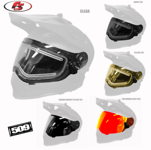 New 2019 509 Heated Dual Electric Shield for Delta R3 Snowmobile Helmets