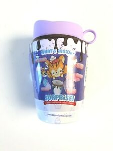Cup /'n Cakes Squishy Toy Surprise NEW Purple SMOOSHY MUSHY Series 4