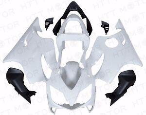 Unpainted-ABS-Plastic-Fairing-Cowl-Bodywork-For-Honda-CBR600-F4I-2001-2002-2003