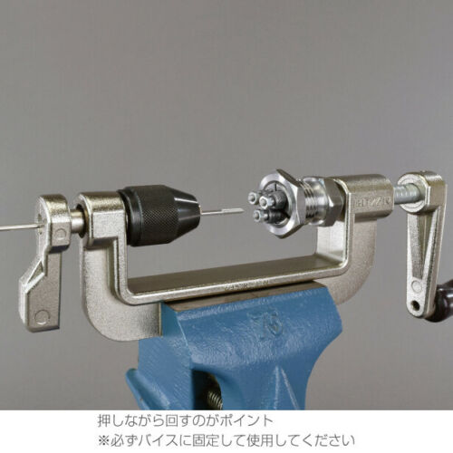 HOZAN C-702-14 Spoke Threading Machine Bicycle Tool Maintenance Supplies