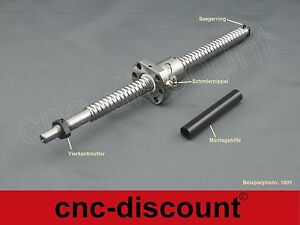 Kugelumlaufspindel 1605 x 700mm Spindel Linear ball screw CNC Fräse 3D Drucker