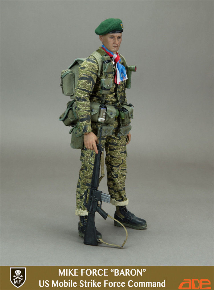 ACE 1 6 SCALE MODERN MIKE FORCE BARON US MOBILE STRIKE FORCE COMMAND 13032