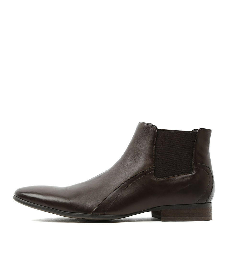 New Croft Grant Brown Mens Shoes Dress Boots Ankle