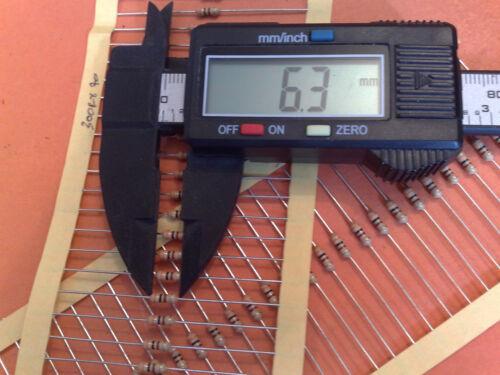 300R 5/% 0.25W Estilo Antiguo * 300 ohmios 500 X 1//4W Carbono resistencias de película 300R