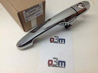 New Outer Front Passenger Side Door Handle 06-11 Buick Lucerne Chrome 15936038