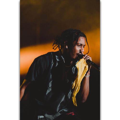 30 24x36 Poster ASAP Rocky Hip Hop Rap Music Singer Rapper Star T-1841