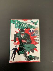 THE GREEN HORNET 1966 PLAYING CARDS 52 CARD DECK W/ BOX By