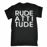 Rude Attitude T-SHIRT Street Cool Awesome Urban Rudeboy Tee Gift fathers day