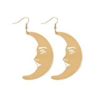 Fashion-Women-Acrylic-Resin-Moon-Earrings-Boho-Dangle-Drop-Stud-Earring