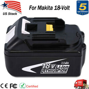 New-18V-3-0Ah-18Volt-Lithium-Ion-Batteries-LXT-Battery-For-Makita-BL1830-BL1815