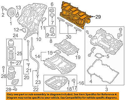 Genuine Hyundai 28310-3CFA0 Intake Manifold Assembly