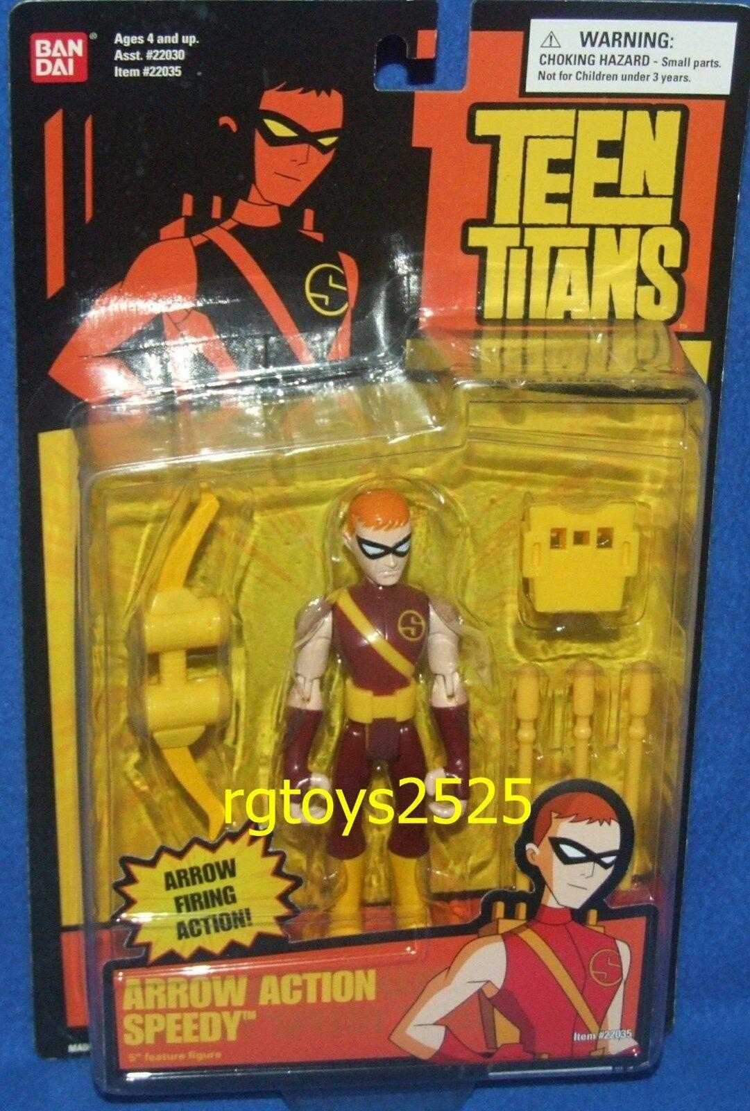 Teen Titans Arrow Action Speedy New Factory Sealed 2005 D C COMIC