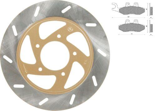 Disque de frein AVANT// 2 plaquettes pr Aprilia Sport City One 50 2T 4T 08-12