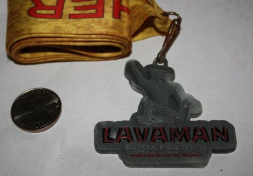 2013 LAVAMAN TRIATHLON KAILUA KONA HAWAII FINISHERS MEDAL 100% ORIGINAL