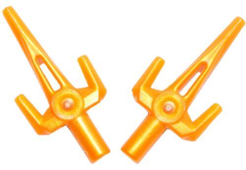 "☀️NEW Lego Weapon Golden SAI Gold /""Little Striker/"" Skeleton Ninjago Ninja"