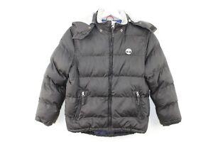 Kids-Timberland-Black-Jacket-Size-10-138-No-P139-30-1