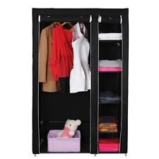 Closet Garment Wardrobe Storage Organizer 69 Portable Clothes Rack Hanger Cover