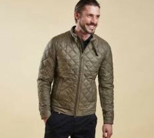 Barbour-X-Land-Rover-Men-039-s-Expedition-Quilted-Leather-Trim-Jacket-2XL-NWT-400