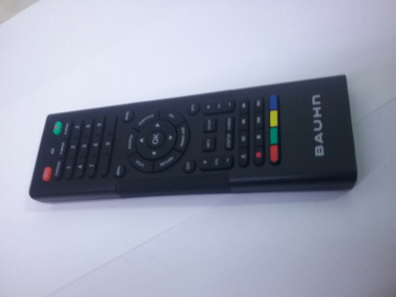Genuine Bauhn LCD TV ATVS65-0716 Remote Control with Keyboard Brand New