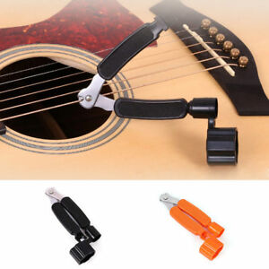 pro 3 in1 guitar string peg winder cutter clippers bridge pin puller bass suppy 4894376413955 ebay. Black Bedroom Furniture Sets. Home Design Ideas