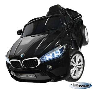 Kinderfahrzeug-BMW-X6M-12V-Kinder-Elektro-Auto-Kinderauto-MP3-USB-Ledersitz-EVA