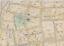 PETER/'S CHURCH PS 1 /& 3 ATLAS MAP ESSEX COUNTY NEW JERSEY ST 1906 BELLEVILLE
