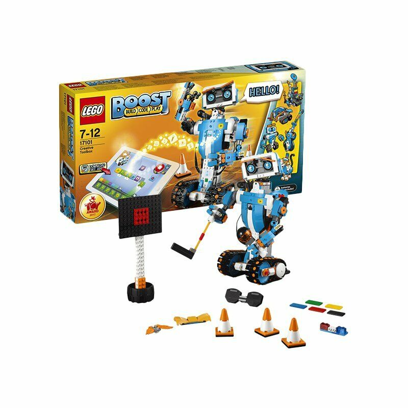 LEGO 17101 Boost Creative Toolbox 847 Pieces 5 in 1 Model Robot Building Kit Set