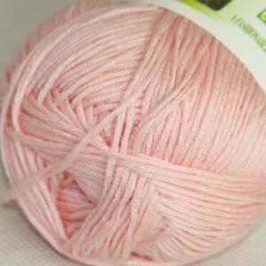 Sale Lot 1Skein x50gr Soft Bamboo Cotton Baby Hand Knit Shawls Crochet Yarn 05