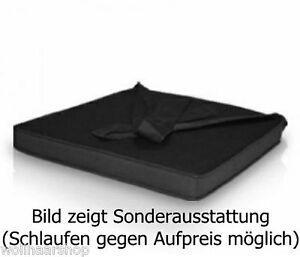 stuhlkissen sitzkissen auflage bankauflage polster f z b gartenliege ebay. Black Bedroom Furniture Sets. Home Design Ideas